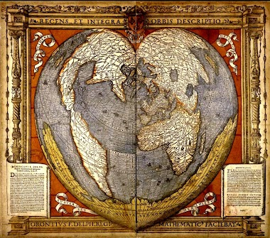 Heart-Shaped Maps - Valentine Primary Sources