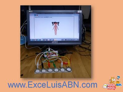 Sistemas del cuerpo humano con Scratch 3.0 + Makey-Makey.