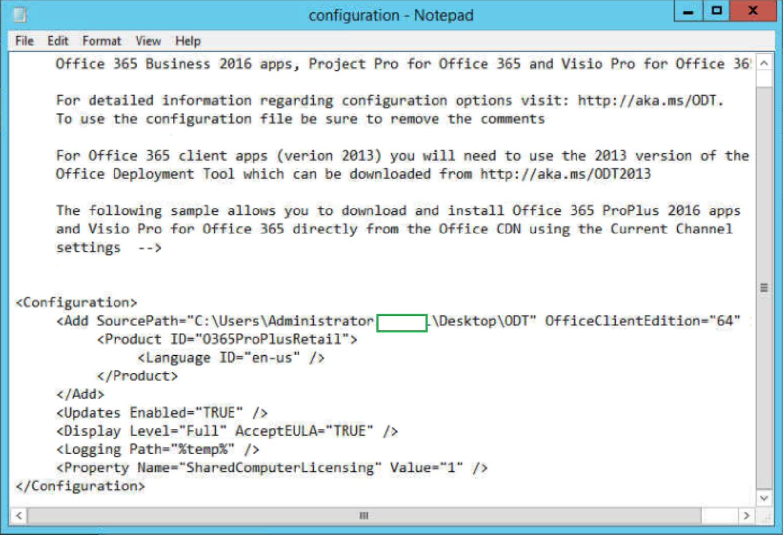 office 2016 office 365 deployment tool