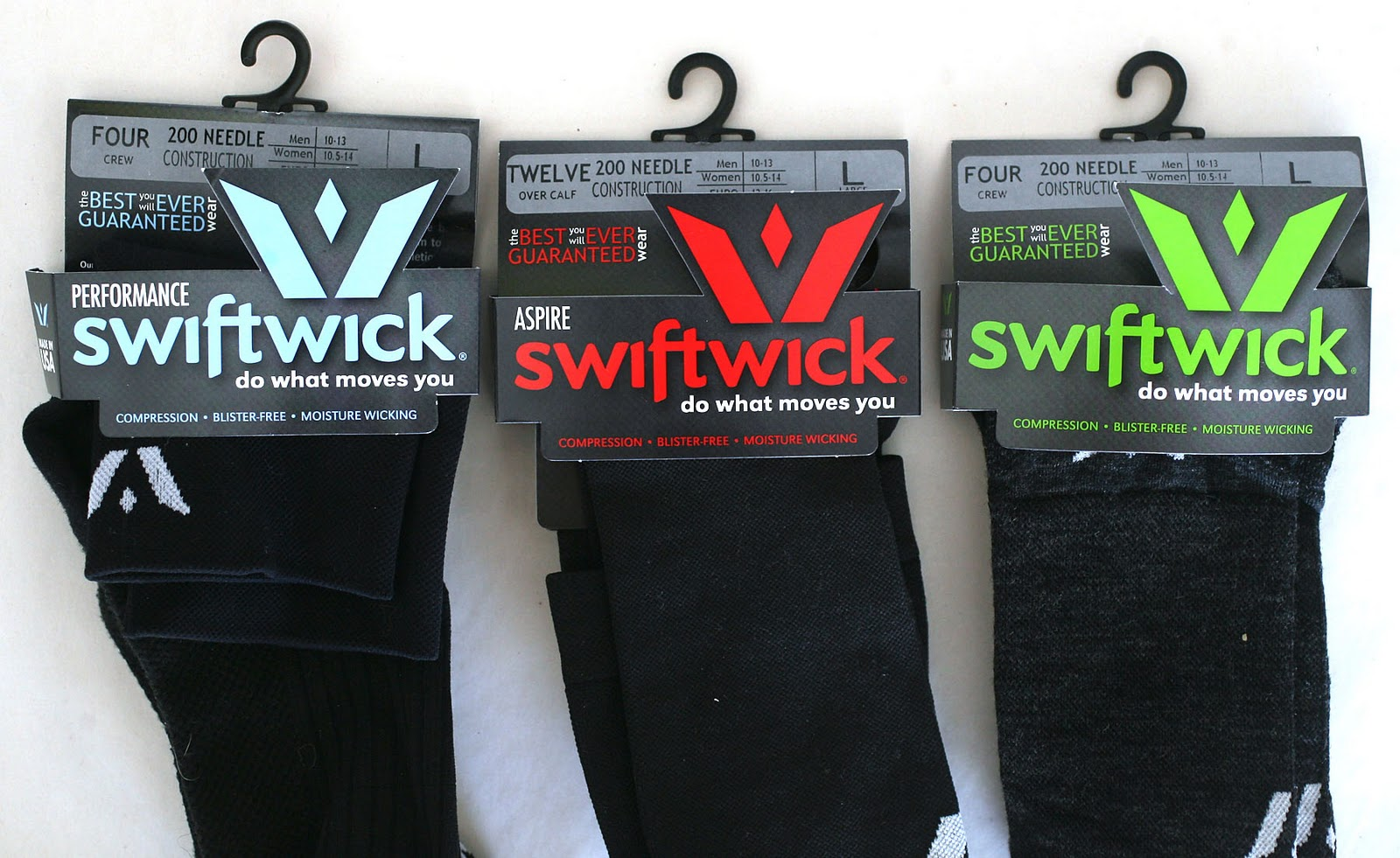 3be9051357 I have worn and tested three pairs of Swiftwick socks over the past two  months, training (running and cycling) and here are my findings.