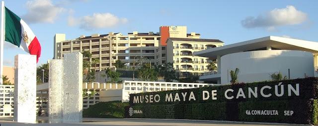 Museu Maia em Cancún no México