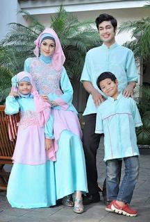 Motif Baju Biru Muda Yang Bagus Untuk Hari Raya Idul Fitri 2017