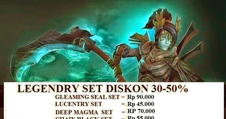 Set Legendry Diskon jual item dota 2