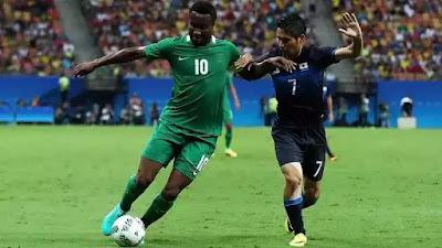 Chelsea Striker Mikel Obi at Rio 2016