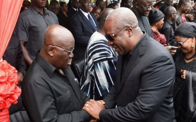 'Young' Mahama must give way to 'old' hands – Akufo-Addo