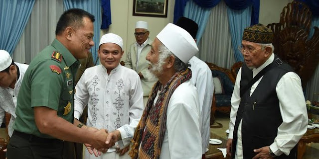 Panglima TNI Ini Minta Doa Para Ulama Agar NKRI Maupun TNI Bisa Tetap Tegak
