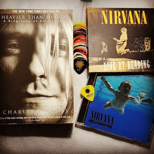 Forever my favorite musician. <3  #heavierthanheaven #nirvana #kurtcobain #davegrohl #foofighters #c...