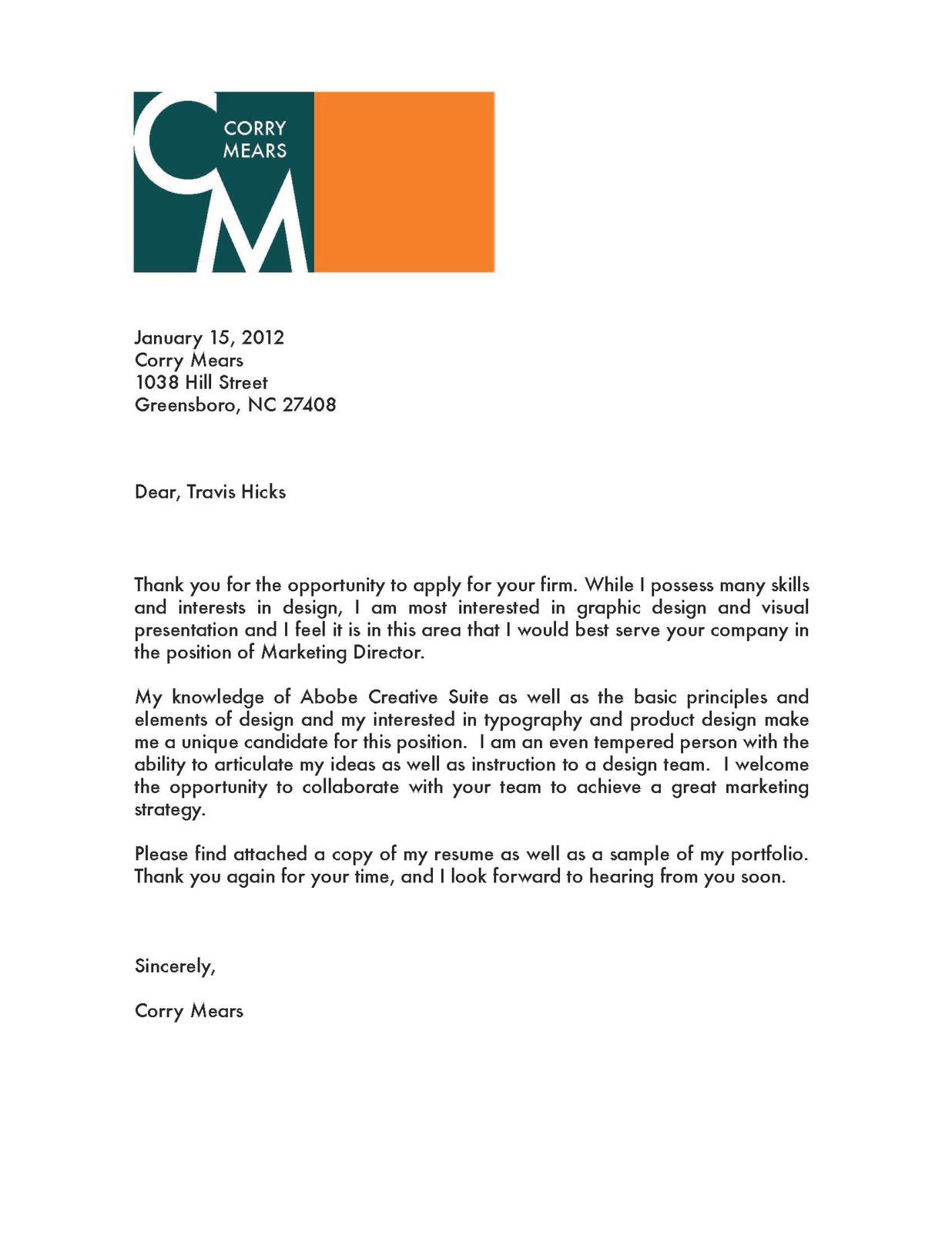 Cover Letter For Web Design Proposal June 2021