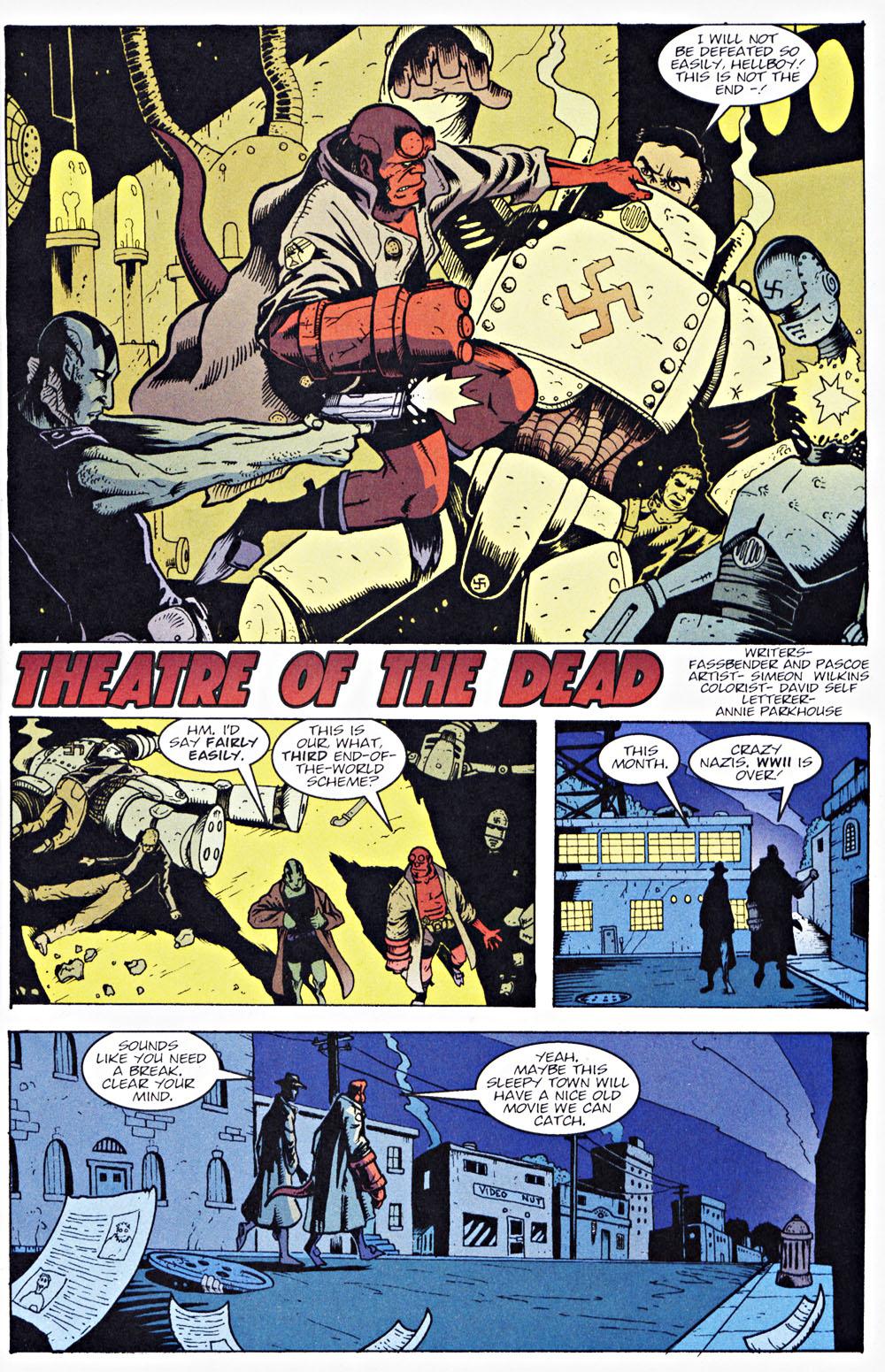 Read online Hellboy: Weird Tales comic -  Issue #7 - 11