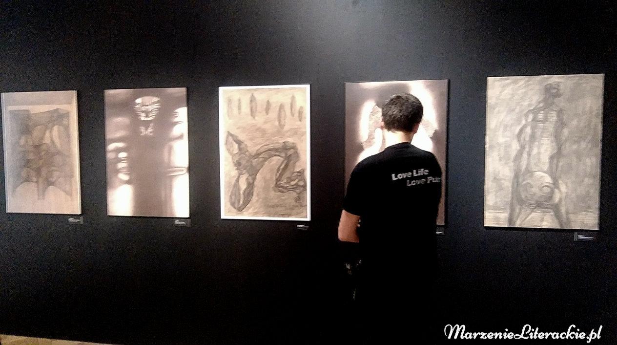 marzenie literackie, mroki podświadomości, zdzisław beksiński, obrazy