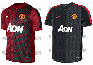 5b94daf26 Today we can show the new Manchester United 14-15 Prematch Jerseys and Training  Kits