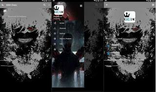BBM Mod Tokyo Ghoul Mod APK