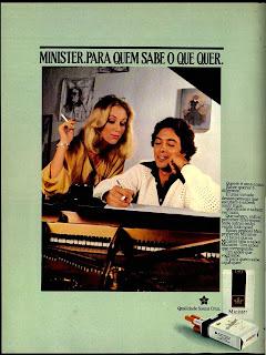 propaganda cigarros Minister - 1979