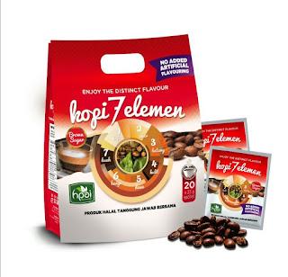 Kopi herbal stamina 7 elemen hpai kopi kuat tahan lama pria wanita