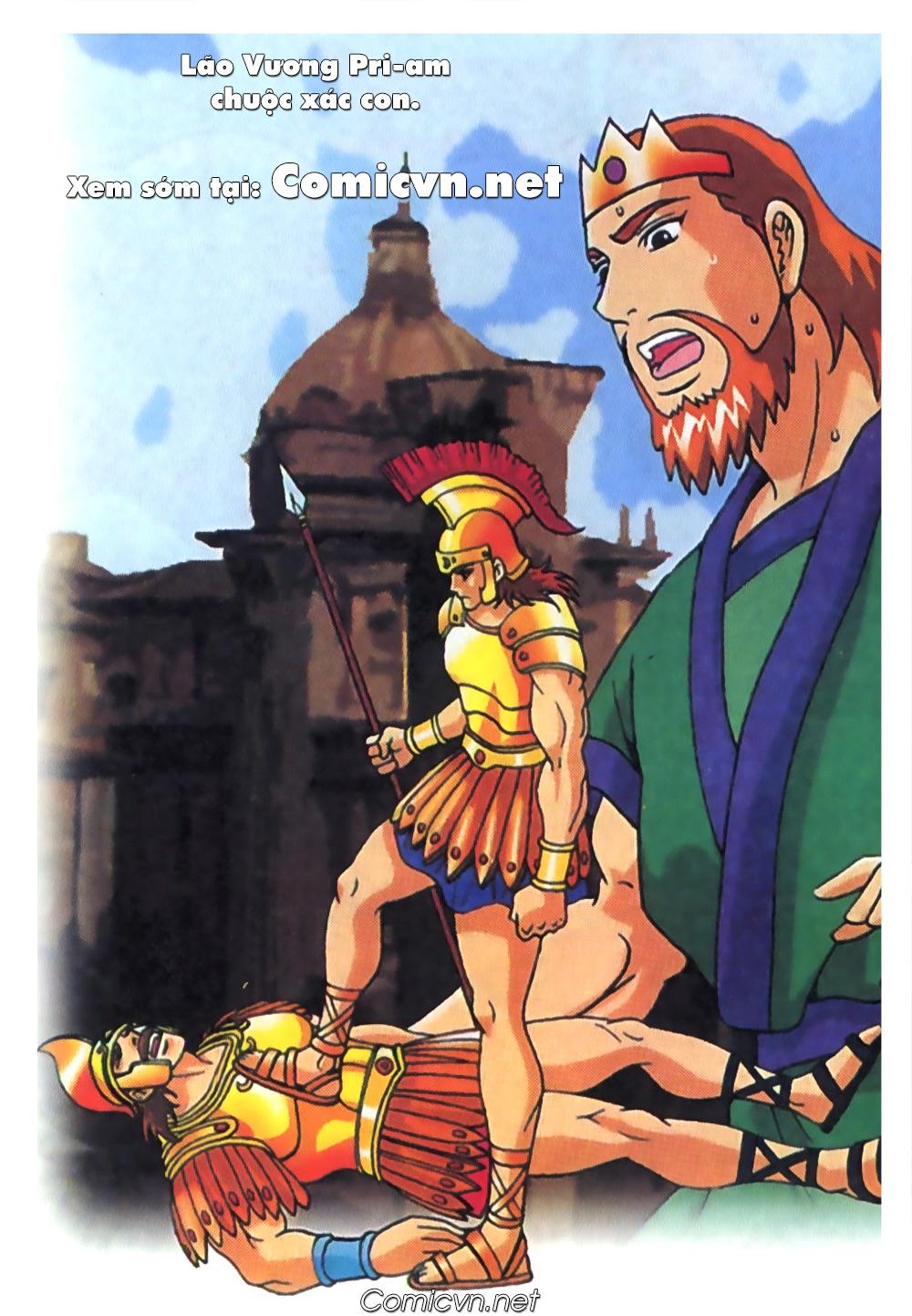 Thần Thoại Hy Lạp Màu - Chapter 62: Hector tử trận - Pic 27