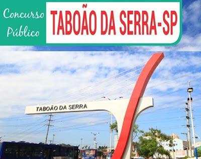 Concurso 2018 - Prefeitura de Taboão da Serra {Apostilas}