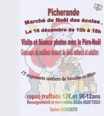 Marché de Noël 2012, Picherande