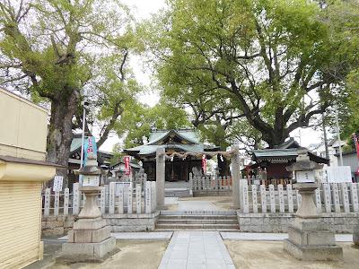 【門真市稗島】堤根神社(つつみねじんじゃ) 境内