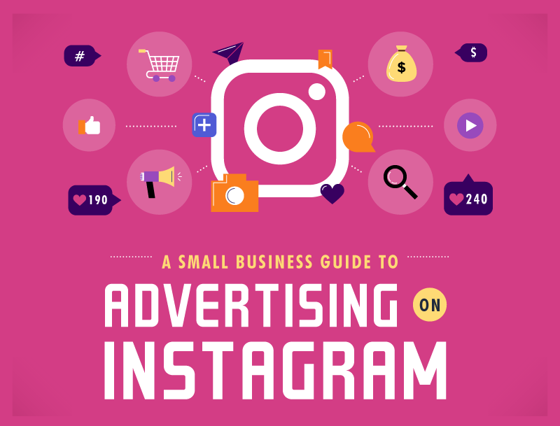A Small Business Guide to Advertising on Instagram - infographic