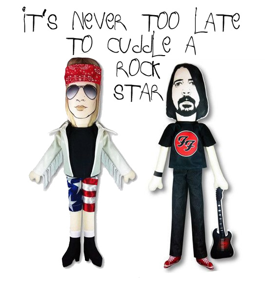 Axl Rose Dave Grohl doll
