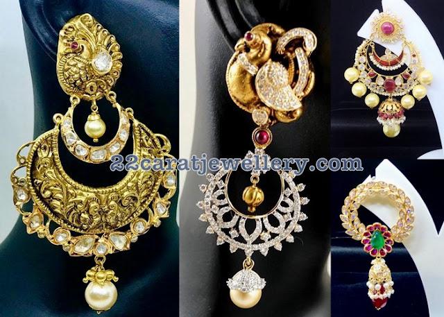 Latest Earrings from Naj Jewellery