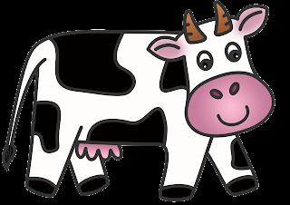 Classroom Treasures: Cow clipart