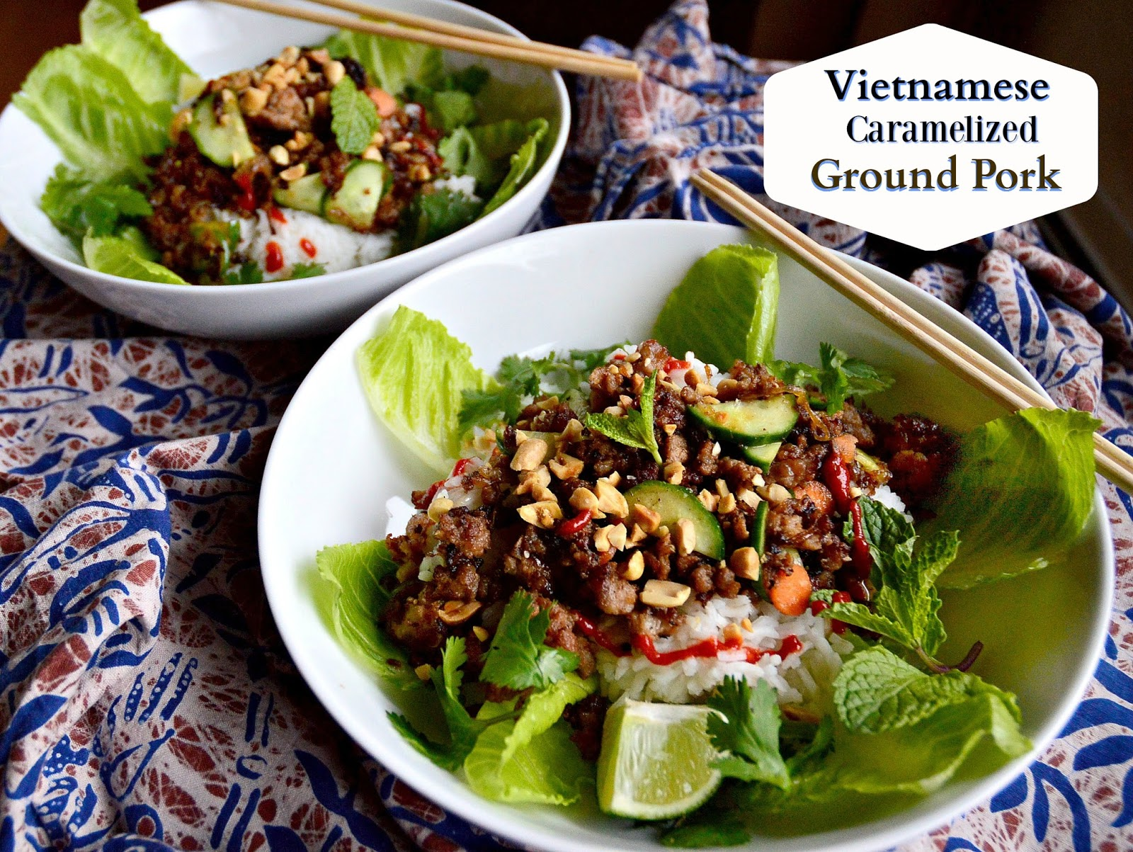 Vietnamese Caramelized Ground Pork - This Is How I Cook