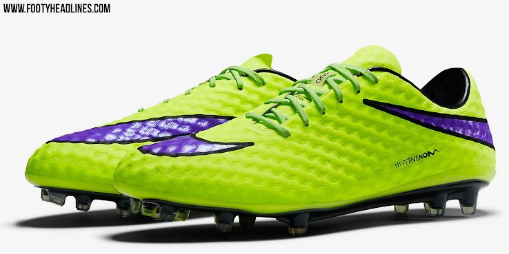 volt nike hypervenom 2015 boots released footy headlines