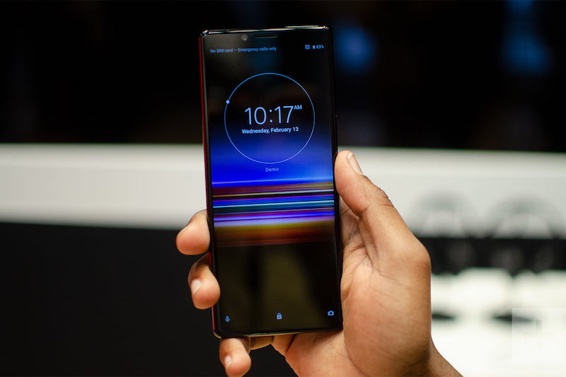 Sony Xperia 1 (Photo Credit: Digital Trends)