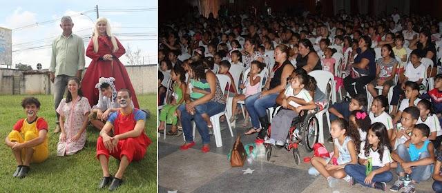 Senador Canedo: Espetáculo João e Maria é atração para alunos da rede Municipal