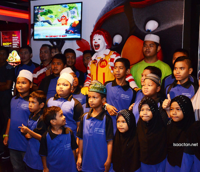 Ronald McDonald House Charities Malaysia (RMHC) Angry Birds Movie Charity Screening