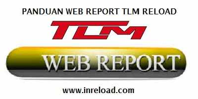 panduan web report tlm