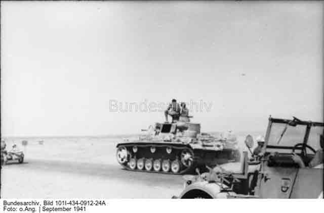 A Panzer III in North Africa 25 September 1941 worldwartwo.filminspector.com