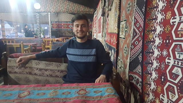 Harun İstenci Bilecik'te Yörük Çadırında. | Bilecik - Ocak 2019