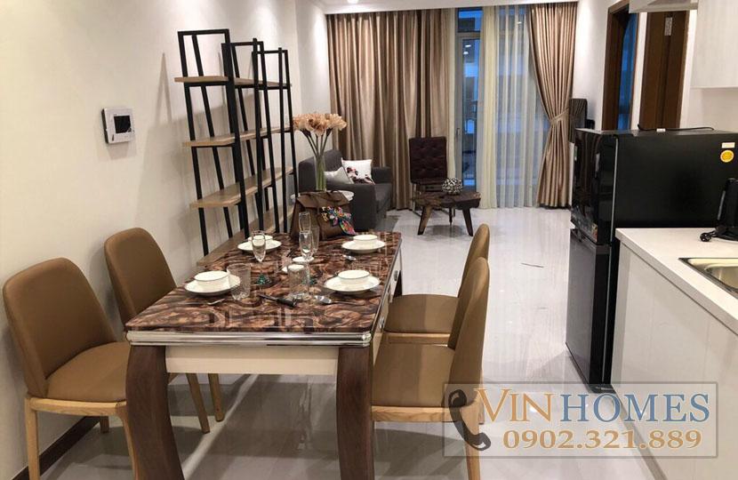 Căn hộ Vinhomes Bình Thạnh cho thuê Office 47m2 - hinh 2