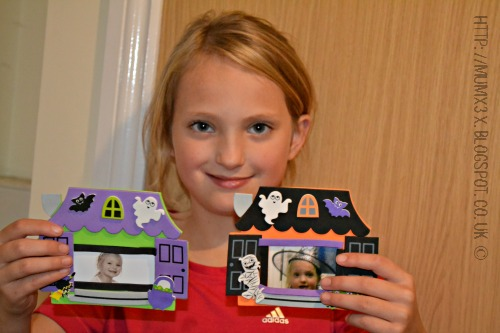 Haunted House Photo Frame Magnets from Baker Ross review