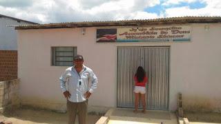 Bandidos invadem Igreja evangélica em Nova Floresta pelo telhado e levam equipamentos