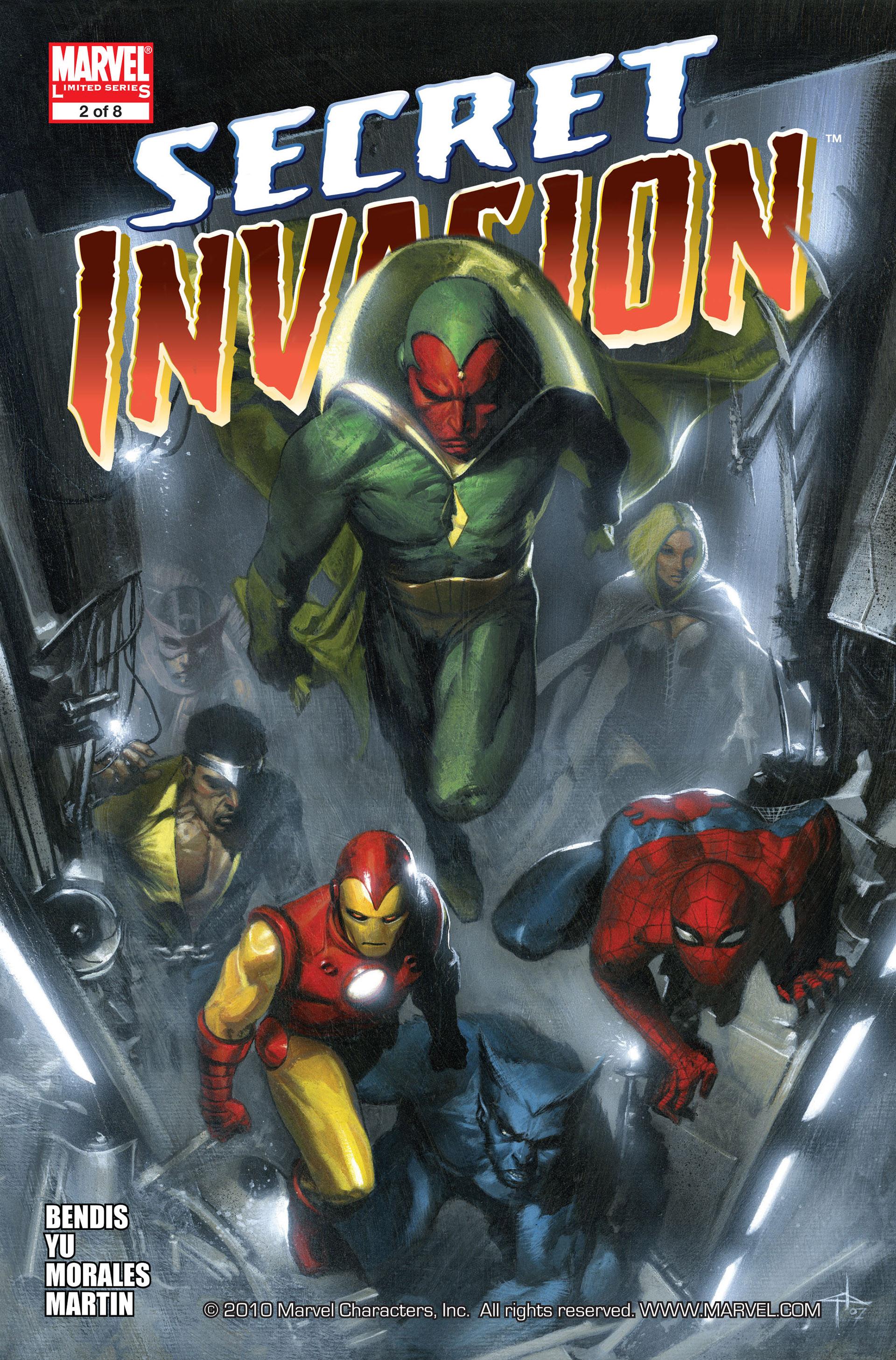 Read online Secret Invasion comic -  Issue #2 - 1