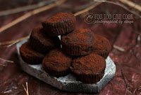 Easy Chocolate Truffles Recipe | Chocolate Truffle Recipe | Truffle Recipe Using Condensed Milk | Truffles Using Cocoa Powder And Condensed Milk