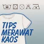 Tips Merawat Kaos Distro