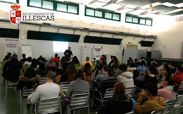 Un momento de la presentacion del programa de empleo joven en Illescas. IMAGEN COMUNICACION ILLESCAS