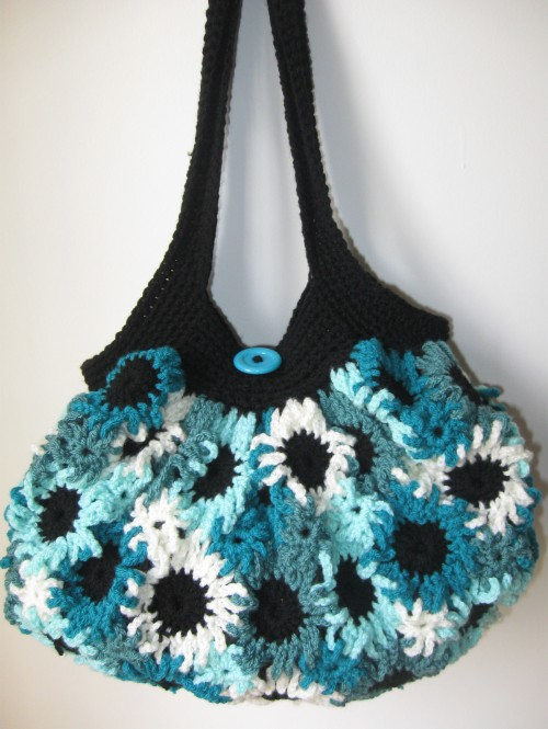 Crochet Flower Purse - Free Pattern