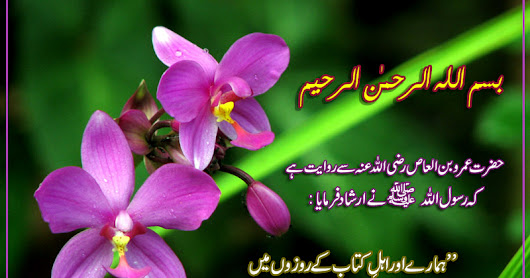 Hadees about Ramadan in Urdu - Ramadan Quotes in urdu ~ Islamic Blog about Muslims