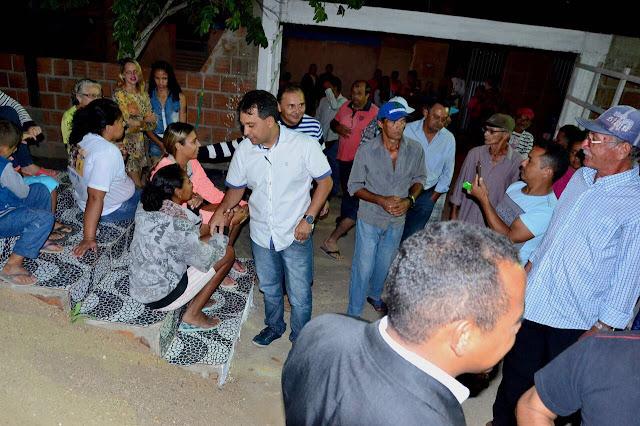 Na Vila Florestal: após perfuração de poço artesiano, Fábio Ramalho anuncia pavimentação de 4 ruas
