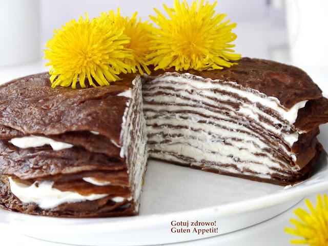 Czekoladowy tort naleśnikowy - Czytaj więcej »
