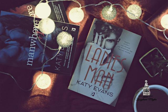"""Gorące uczucie, od którego nie ma ucieczki – recenzja książki #263 – Katy Evans """"Ladies Man"""""""