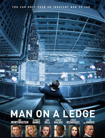 Poster Of Man on a Ledge 2012 In Hindi Bluray 720P Free Download