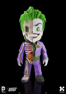 DC Comics XXRAY Dissection Villains Series 3 Vinyl Figures by Jason Freeny & Mighty Jaxx - The Joker