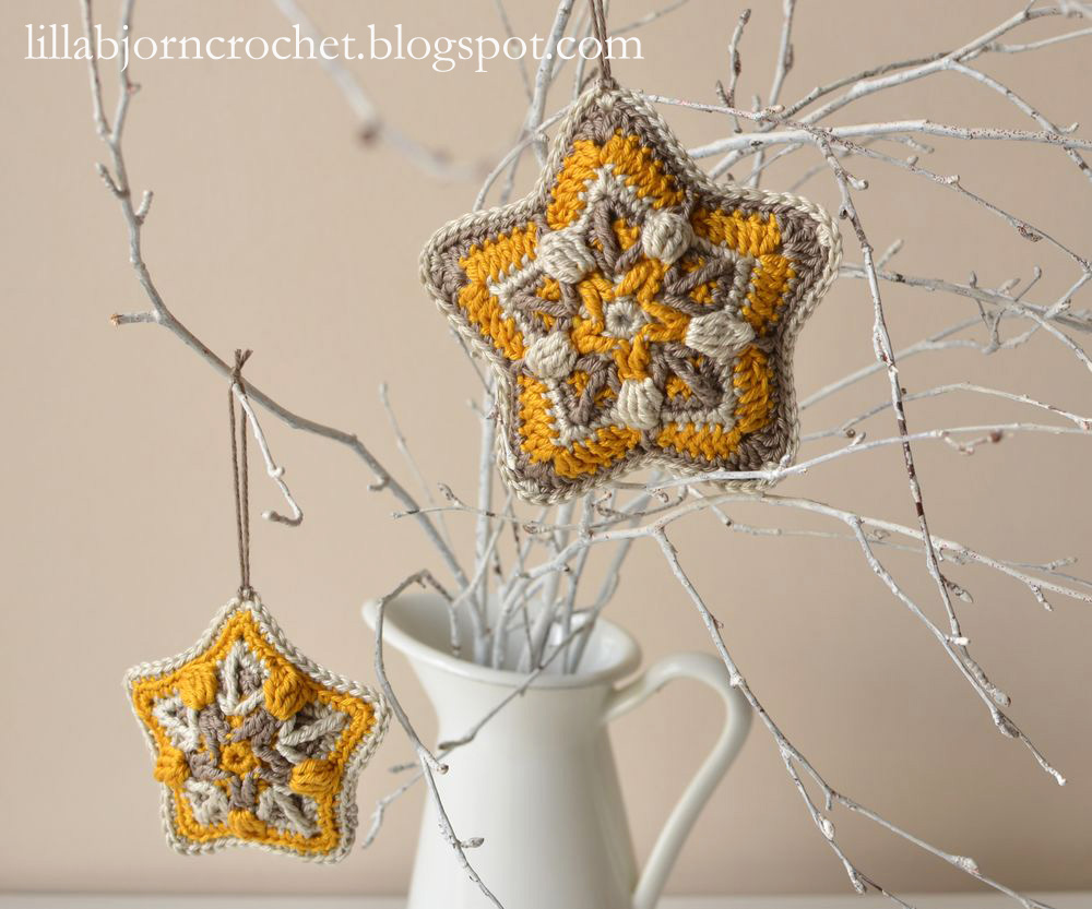 Starry Dream: New Christmas Pattern | LillaBjörn\'s Crochet World