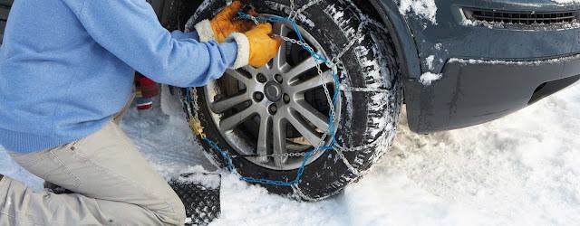 Comment bien monter les chaînes de neige